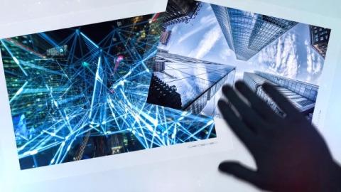 科技互联网手势图文展示