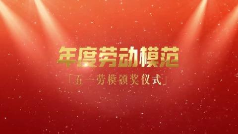 五一年度劳动模范劳模表彰视频