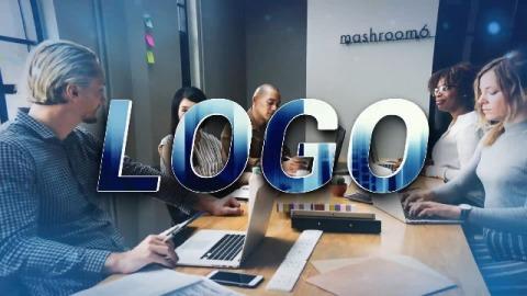 企业LOGO形象卡点宣传