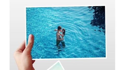 婚礼浪漫爱情旅行旅游生活手持照片拼接电子相册