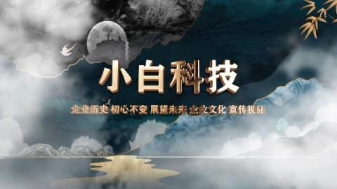 水墨鎏金中国风古典企业宣传