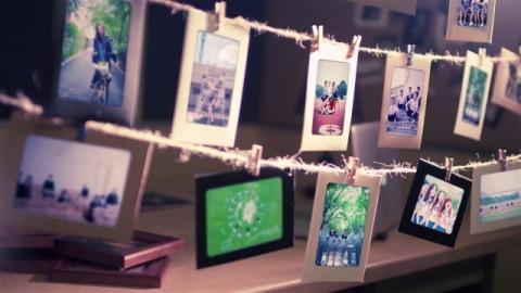 青春校园照片墙回忆纪念册
